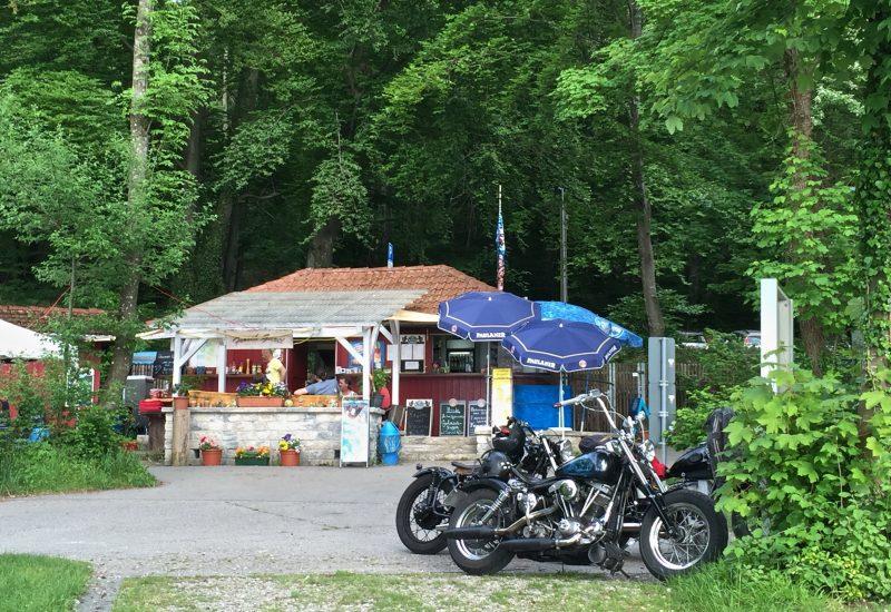 Biker am Froschgartl